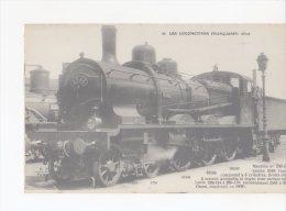 CPA-TRANSPORTS-TRAINS-... .LOCOMOTIVE FRANCAISES-ES T- MACHINE TENDER N° 230-140-PUR TRAINS MIXTES - Eisenbahnen