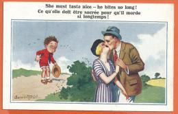 FEL143, Donald Mc Gill, Circulée 1923 - Humour