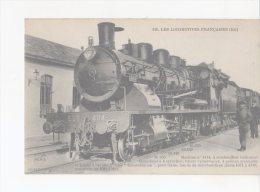 CPA-TRANSPORTS-TRAINS-... .LOCOMOTIVE FRANCAISES-EST- MACHINE N° 4114-A SURCHAUFFEUR HELICOÏDAL-1 MECANICIEN - Trains