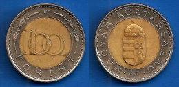 Hongrie 100 Forint 1997 Hungary Magyar Skrill Paypal OK - Hungary