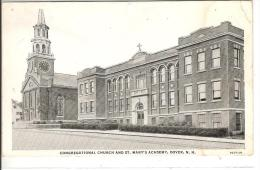 CONGREGATIONAL CHURCH AND ST. MARY´S ACADEMY DOVER - Dover