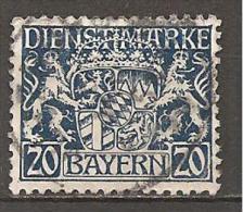 BAYERN - MI.NR. 28 O DIENST - Bavière