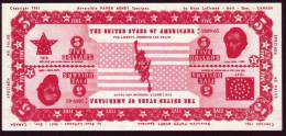 Test Note Bank Of Canade,  U$ 5, Both Sides Same, Watermark, UNC ,extremly  Rare - Non Classés