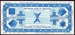 Test Note Bank Of Canade,  U$ 10, Both Sides Same, Watermark, UNC ,extremly  Rare - Non Classés