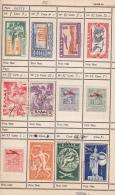 BONNES VALEURS DANS CARNET DE CIRCULATION. MAJORITE ITALE, ESPAGNE...FORTE COTE - Sammlungen