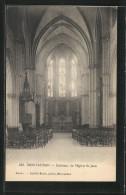 CPA Montauban, Intérieur De L'Eglise St-Jean - Montauban