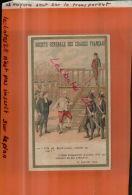 SOCIETE GENERALE DES CIRAGES FRANCAIS, L'Abbé Edgeworth à Louis XVI  Avant Exécution, NOV.2013 203 - Chromo