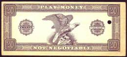 Play Money , Billet Scolaire, 1 Note, UNC Rare - Andere