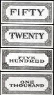 Play Money , Billet Scolaire, UNC Rare - Billets