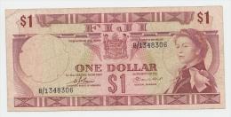 Fiji 1 Dollar 1974 VF P 71a 71 A - Fiji