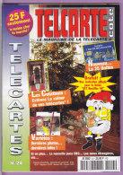 TELCARTE   °   Catalogue  N°  24   °   Déc 97 ---Jan 1998 -  68 Pages.  T  B  E - Telefonkarten