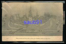 Lot De 4 CPA -  Dun Sur Auron -  Ville Et Donjon - Bassin - Colonie Familiale - Marché Couvert -29808-29815-29822-29824 - Dun-sur-Auron