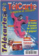TELCARTE   °   Catalogue  N°  37   °   Fév  Mar  2000  -  68 Pages.  T  B  E - Télécartes