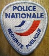 Ecusson Police Nationale - Sécurité Publique Virgule - Police & Gendarmerie