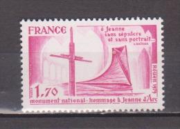 FRANCE / 1979 / Y&T N° 2051 ** : Hommage à Jeanne D´Arc - Gomme D´origine Intacte - Francia