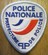 Ecusson Police Nationale - PP Virgule - Police & Gendarmerie