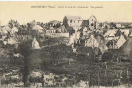 AMIFONTAINE...................apres Le Recul Des Allemands.....................vue Generale - Other Municipalities