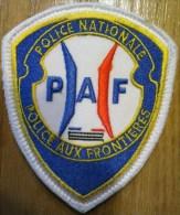 Ecusson Police Nationale - PAF ( Version 2 ) - Police & Gendarmerie
