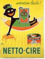 CPM Publicité - Netto-Cire Par Hervé - Pubblicitari