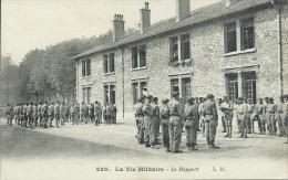 Versailles - Camp De Satory - Chars De Combat ( Tankistes ) - Le Rapport -1923 ( Voir Verso ) - Régiments