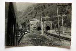 Photo  à Situer Train 661   Ligne Brig-Bern- Cliché Schnabel 1959 - Gares - Avec Trains