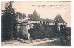 87 BUSSIERE-GALANT CHATEAU VIELLECOUR - Otros Municipios
