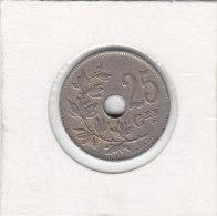 25 CENTIMES CuNi Albert I 1927 FL - 1909-1934: Albert I