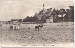 ARCACHON - La Plage Et Le Château De Ganne [3400/A33] - Arcachon