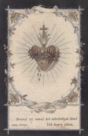 Doodsprentje V. Guillaume VANOSMAEL,Wed. V. Caroline HENDRICKX,Tienen°7-7-1838 /+9-4-1925.(Drukk. L. Delescaille,Tienen - Religion & Esotericism