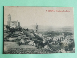 GERONA - Vista Desde San Daniel - Gerona