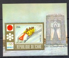 Muo026 SPORT OLYMPISCHE SPELEN BOBSLED OLYMPIC GAMES SAPPORO TCHAD 1972 PF/MNH - Winter 1972: Sapporo