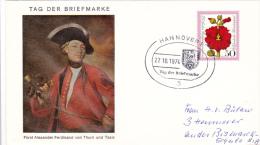 Stamp Day: Germany Hannover 1974 Tag Der Briefmarke (G46-38) - Tag Der Briefmarke
