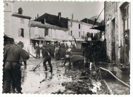 Bourdeaux     Innondations   1960    Carte   Photo _press - Überschwemmungen