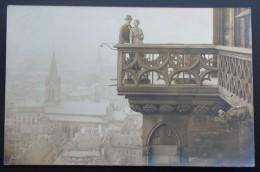 Photocarte  Strasbourg  Cathédrale Balcon - Strasbourg