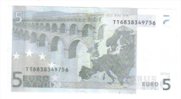 5 € Irlanda Eire T K003H6 Jean Claude Trichet Unc  Cod.€.112 - 5 Euro