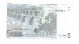 5 € Irlanda Eire T K003E1 Jean Claude Trichet Circulated  Cod.€.113 - 5 Euro