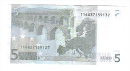 5 € Irlanda Eire T K003H6 Jean Claude Trichet Circulated  Cod.€.114 - 5 Euro