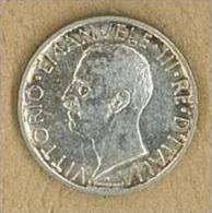 NUMISMATICA - 5 LIRE  - AQUILOTTO - ANNO 1929  - ITALIA REGNO - QUALITA' SPL - 1900-1946 : Vittorio Emanuele III & Umberto II