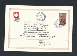 SCHWEIZ 1944***FELDPOST - SONDERKARTE*** - Documents