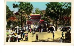 ASIE----SUD-VIETNAN---- GIADINH -entrée Principale De La Pagode Du Marèchal Le Van Duyet---voir 2 Scans - Viêt-Nam