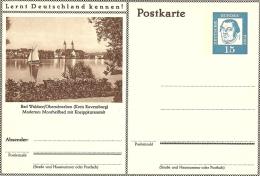 Bildpostkart Mint  Bad Waldsee Oberschwalben, Kreis Ravensburg, Moorheilbad, Kneippkuranstalt, Kirche - Kuurwezen