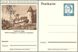 Bildpostkart Mint  Leutkirch Im Allgau, Erholungsort Voralpenland - Kerken En Kathedralen