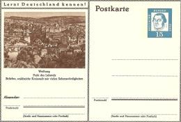 Bildpostkart Mint Weiburg Perle Des Lahntals, Waldreichr Kreisstadt - Vakantie & Toerisme