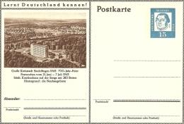 Bildpostkart Mint  Grosse Kreisstadt Sindelfingen 1963 700 Jahr Feier Neubaugebiete, Krankenhaus - Vakantie & Toerisme