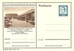 Bildpostkart Mint  Grosse Kreisstadt Sindelfingen 1963 700 Jahr Feier  Stadthalle - Vakantie & Toerisme