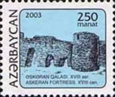 Azerbaijan 2003 Definitive Issue Towers 1v MNH - Azerbaïjan