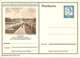 """Bildpostkart Mint  Ludwigsburg, Stadt Der Schlosser Ung Garten, Gartenschau """"Bluhendes Barock"""" - Kastelen"""