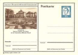 """Bildpostkart Mint  Ludwigsburg, Stadt Der Schlosser Ung Garten, Gartenschau """"Bluhendes Barock"""" Schmetterlingsbrunnen - Kastelen"""