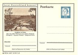 Bildpostkart Mint  Hessingheim Am Neckar, Weinbauorte Neckartals, Spatgotischr Kirche, Staustufe - Wijn & Sterke Drank