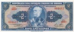 BRASIL 1 CRUZEIRO BANKNOTE MONEY AUNC - Brésil